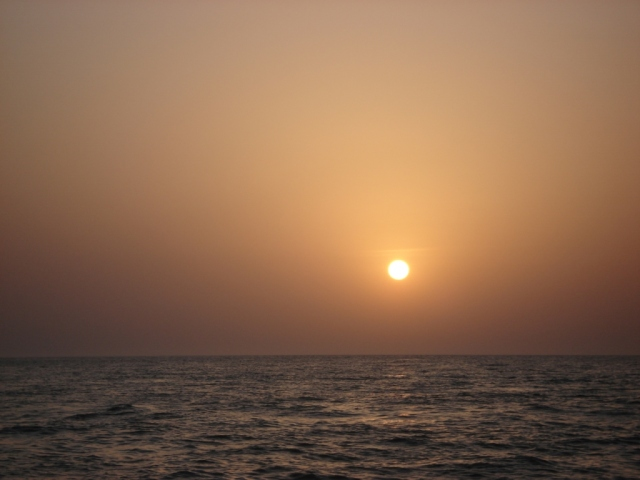 My last Omani sunset (26.08.07)