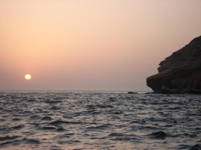 Sunset over Fahal Island (26.08.07)