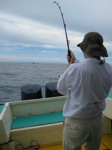 Fighting my first Sailfish #1 (27.10.07)