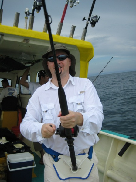 Fighting my first Sailfish #2 (27.10.07)