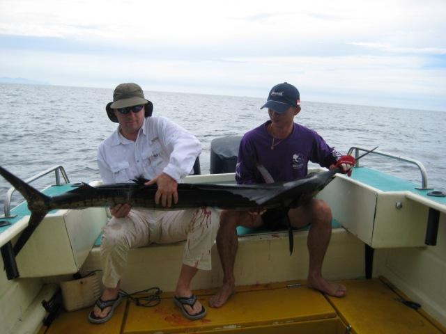Me with my 1st Sailfish #1 (27.10.07)