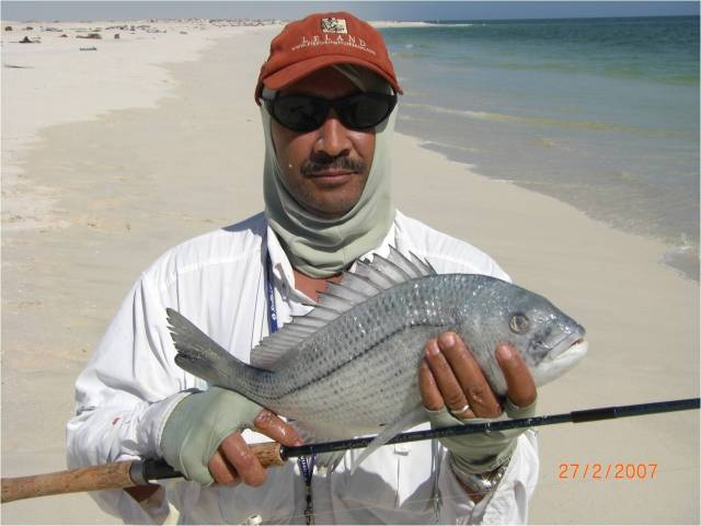 Kamal with bream
