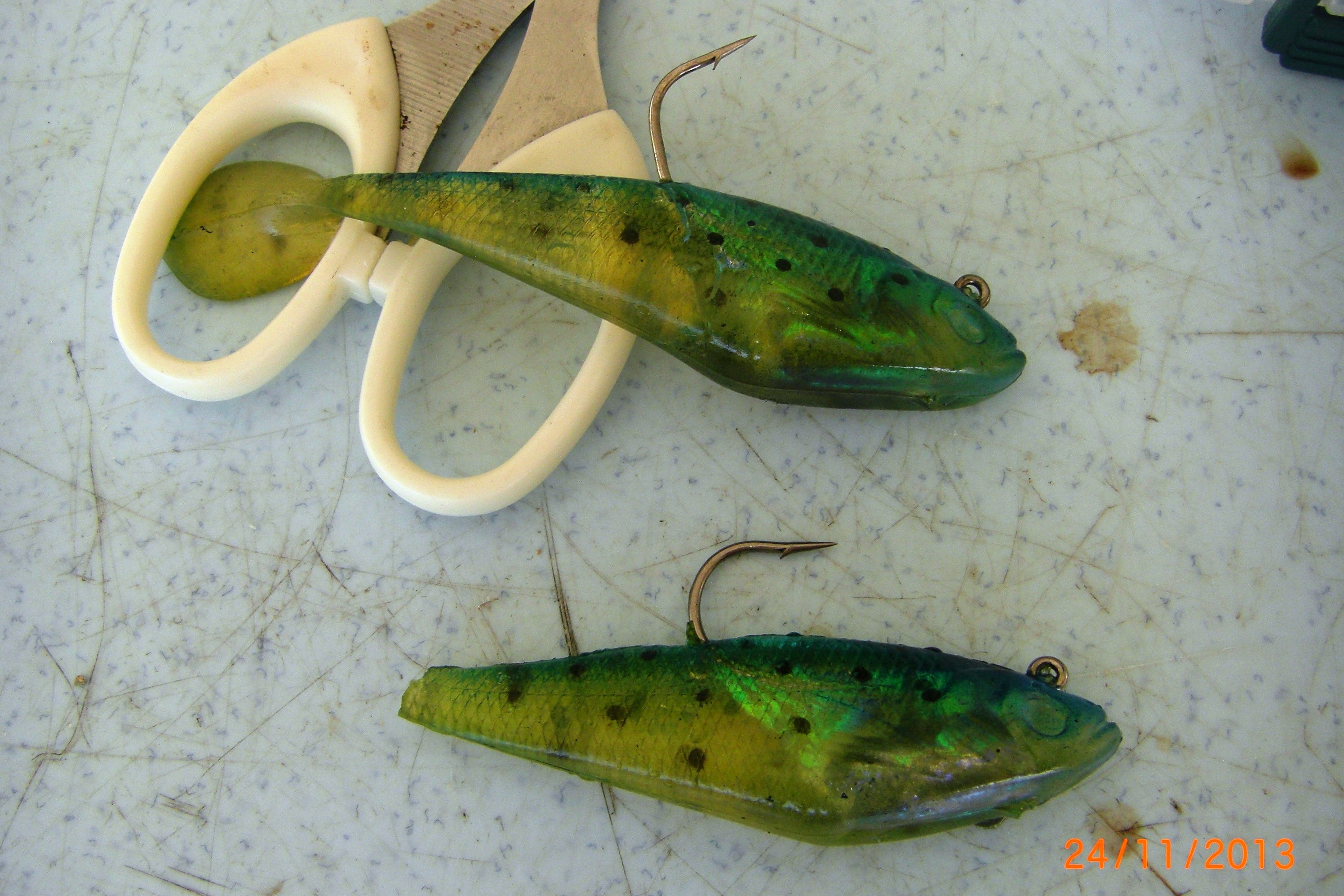 Neffp rawang andrew griffin sport fishing for Gar fishing lures