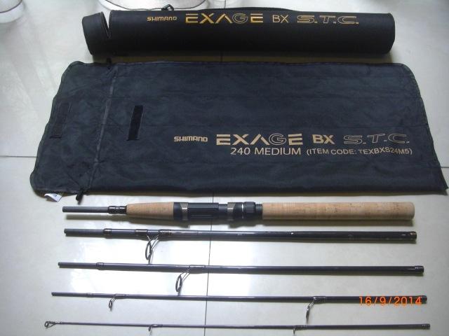 (b)_Shimano Exage BX S.T.C 240 Medium