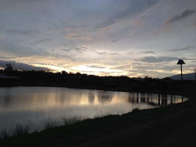 (N12)_Thye Fishing Village sunset (24.10.14)