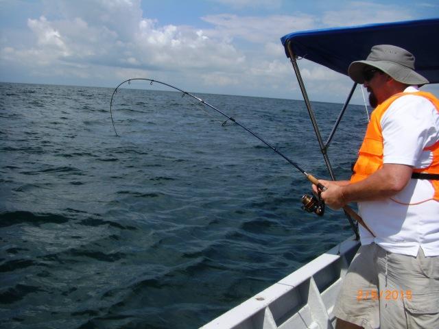 (40)_Ben fighting second Queenfish (02.05.15) [ed]