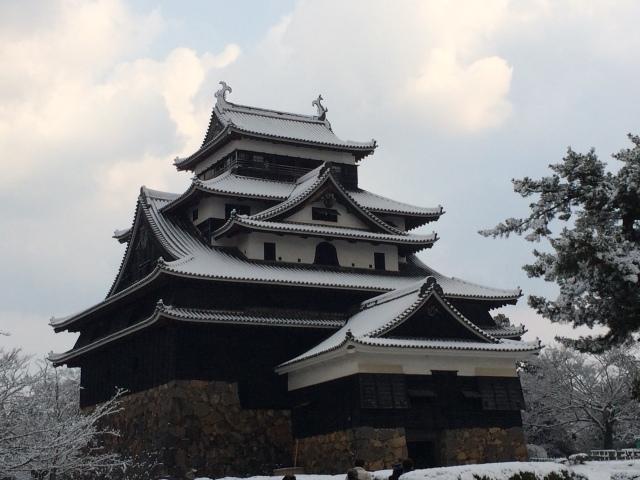 Matsue Castle & grounds, Shimane [26.02.16] (12)