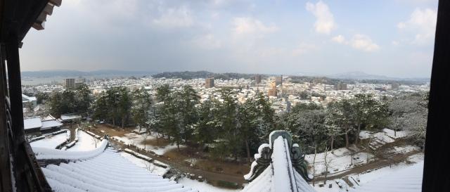 Matsue Castle & grounds, Shimane [26.02.16] (18)