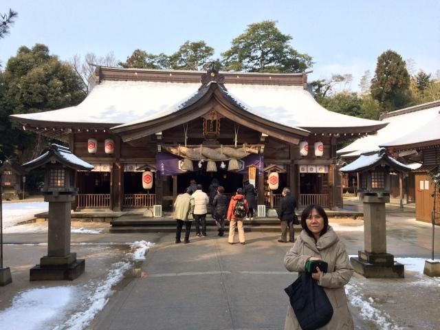 Yaegaki Shrine, Matsue [26.02.16] (2)